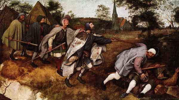 Pieter Breugel the Elder, The Parable of the Blind Leading the Blind